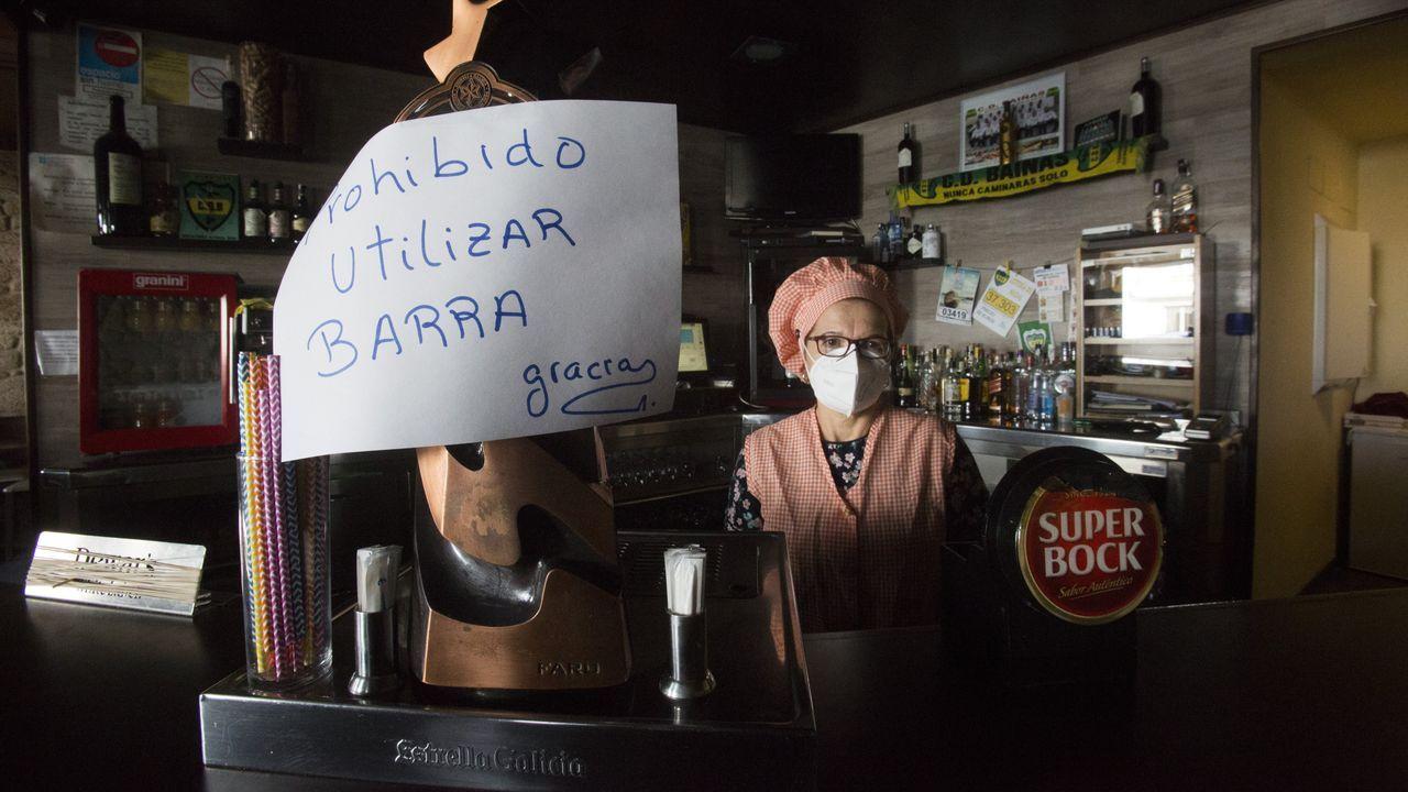 El restaurante O Cabral no sabe si cerrará o abrirá a partir del viernes, cuando solo podrán hacer pedidos a domicilio y recogidas