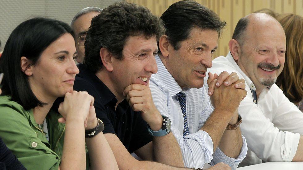 Rosa Díez y Rivera, en el 2014, cuando negociaban un posible acuerdo electoral