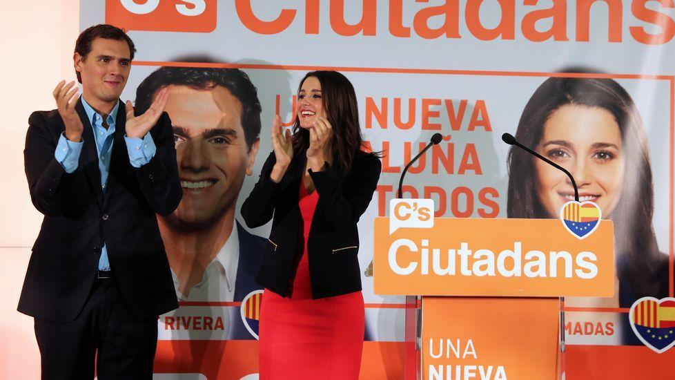 Resultado histórico para Ciudadanos, al pasar de 9 a 25 diputados en el parlamento catalán. Se convierte así en la segunda fuerza
