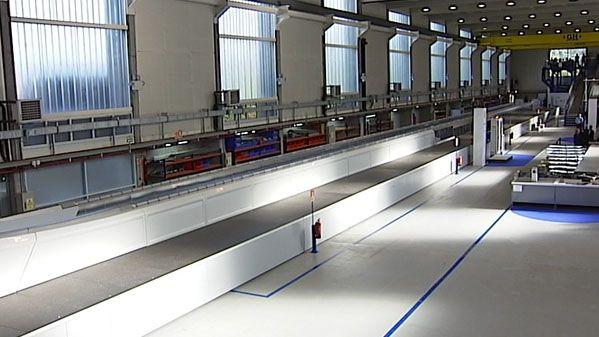 Factoría de Thyssen en Mieres