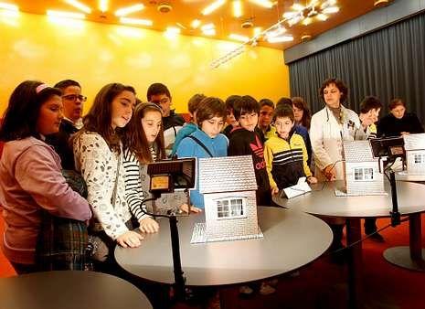 El curso pasado los alumnos participaron en talleres sobre arquitectura bioclimática.