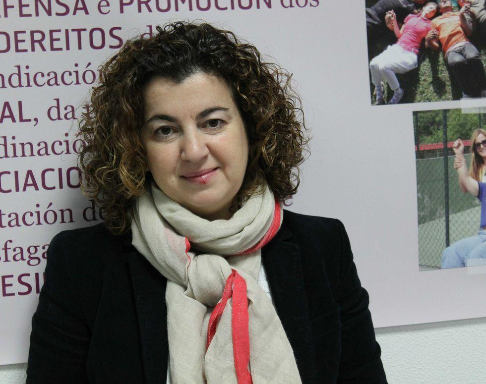 Mari Carmen Insua trabaja para facilitar la reinserción laboral.