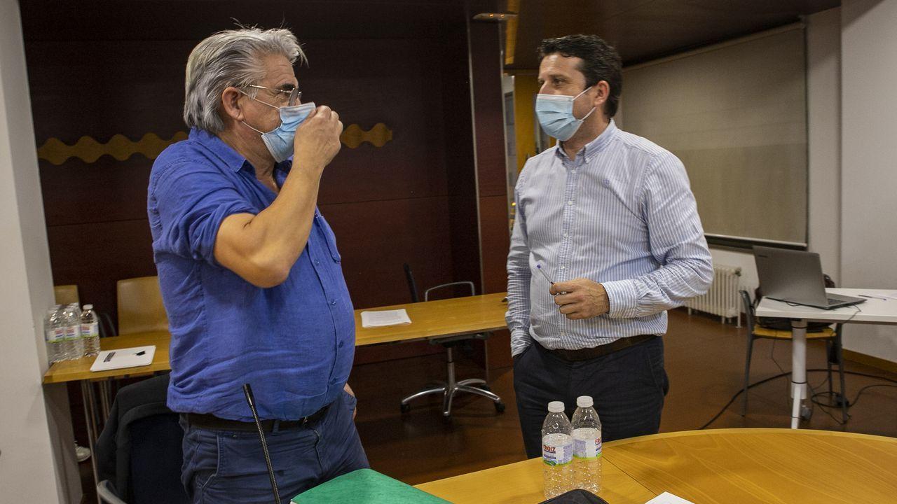 Fernando Diéguez ocupó el puesto de primer teniente de alcalde durante el último mandato de Juan José Dieste