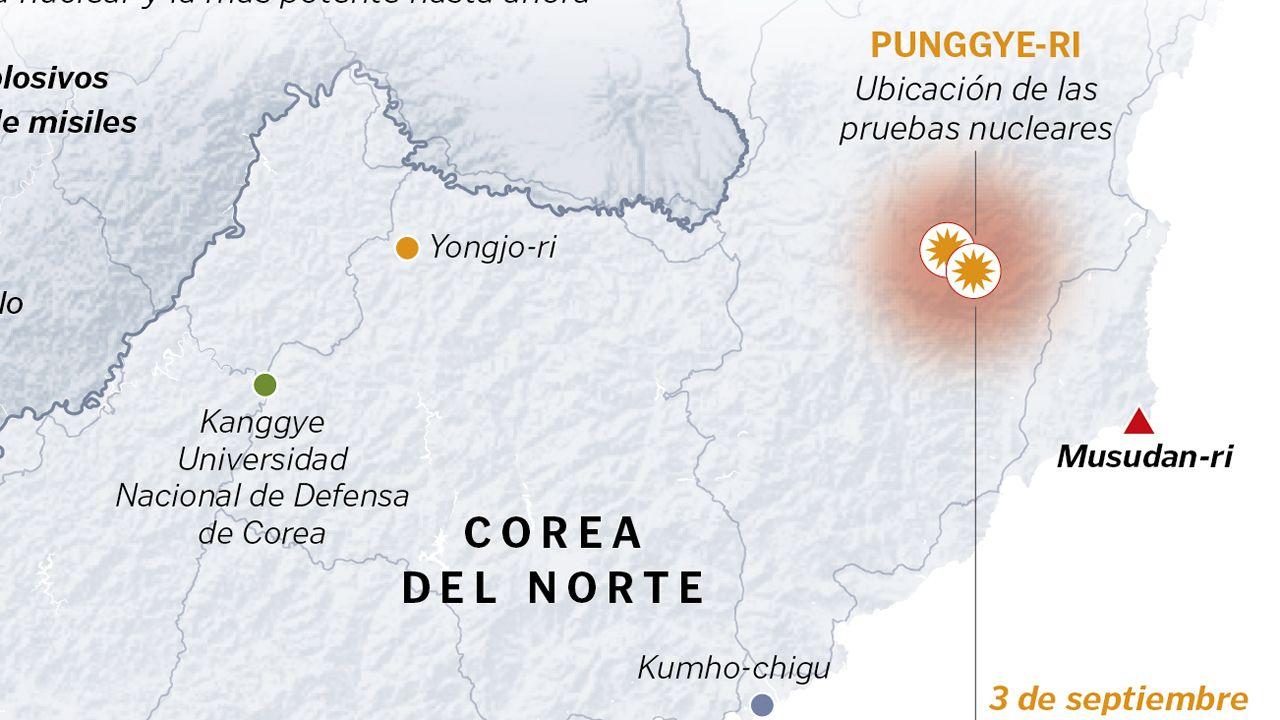 Instalaciones nucleares de Corea del Norte