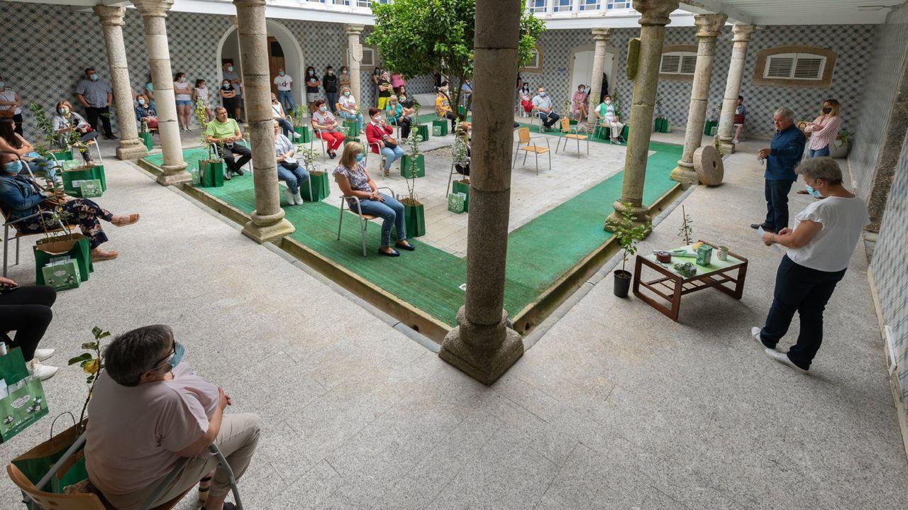 Sigue la búsqueda de Olivia y Anna en Tenerife.Entrega de premios San Sadurniño en flor