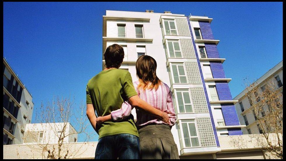 Vivienda puesta a la venta por Bankia en Gijón