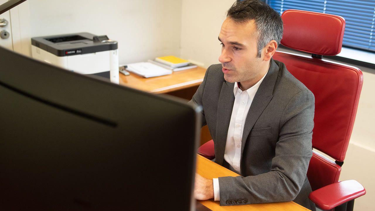 El director del Igape, Fernando Guldrís