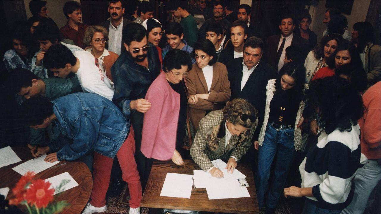 Ante el juez la trama del mayor alijo de heroína en veinte años.Un alijo de hachís en Cádiz, en una imagen de archivo