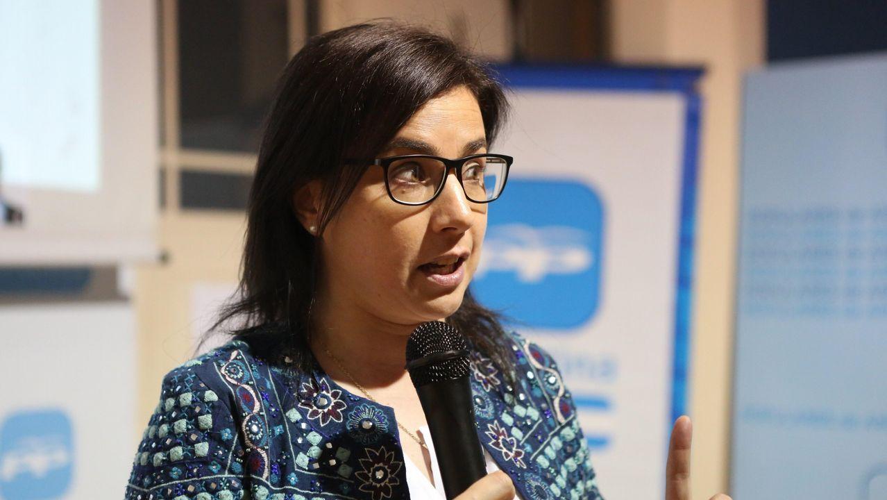 Ana Belén Vázquez es la portavoz de Interior del PP en el Congreso