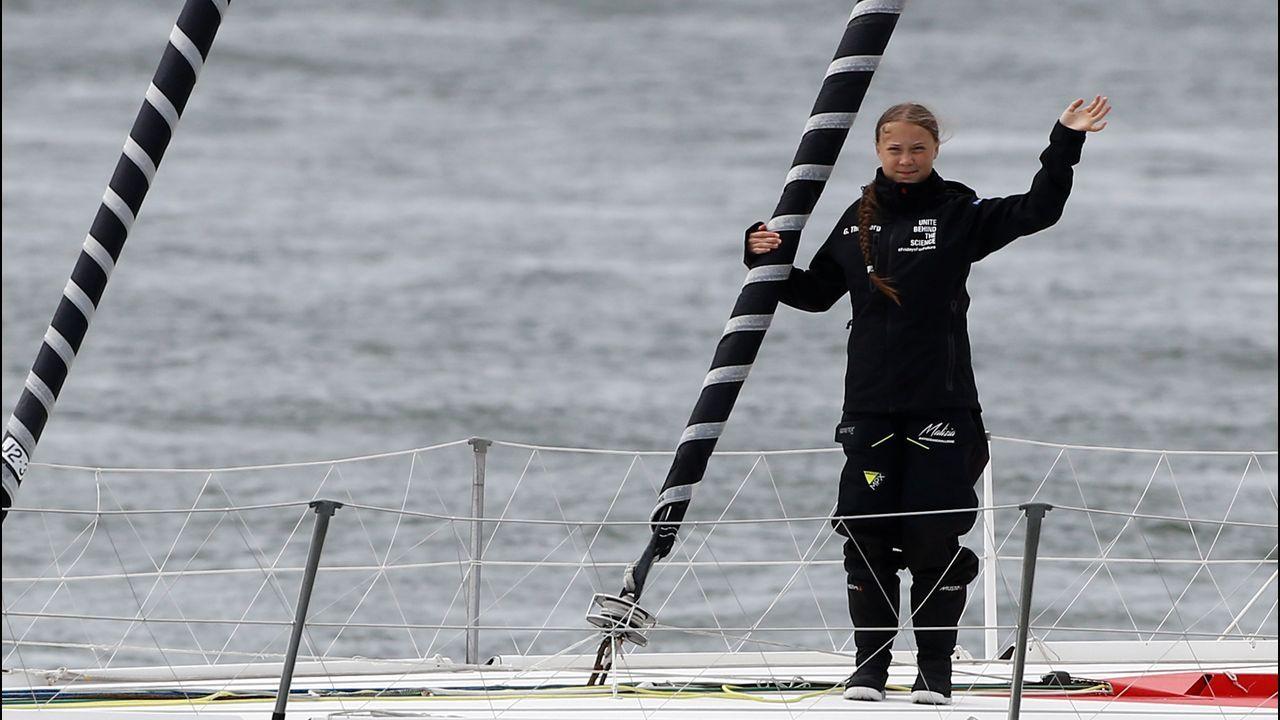 Greta Thunberg, cruzará el Atlántico a bordo de un velero de competición.Steven Calderon Porras