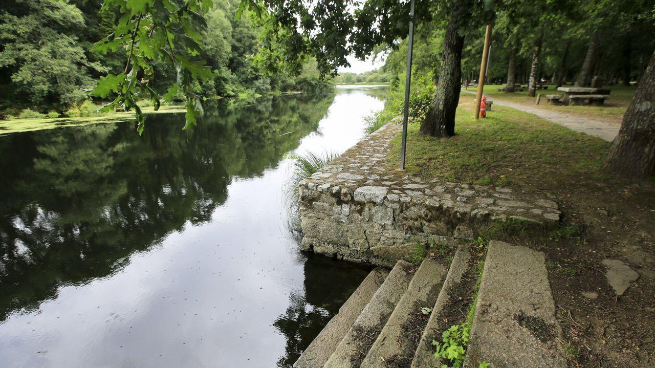 Estas son las mejores zonas fluviales de Lugo.El área recreativa de Santa Isabel es una de las zonas más conocidas del municipio