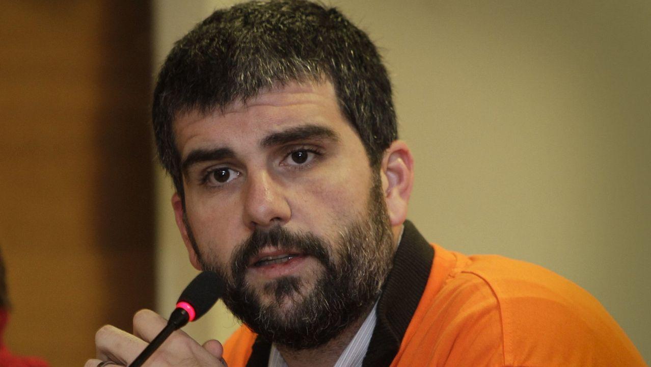 Martín Seco, número 3 del PSdeG por A Coruña. Portavoz del Grupo Municipal Socialista en Arteixo y Secretario de Acción Electoral y Coordinación Territorial del PSdeG.