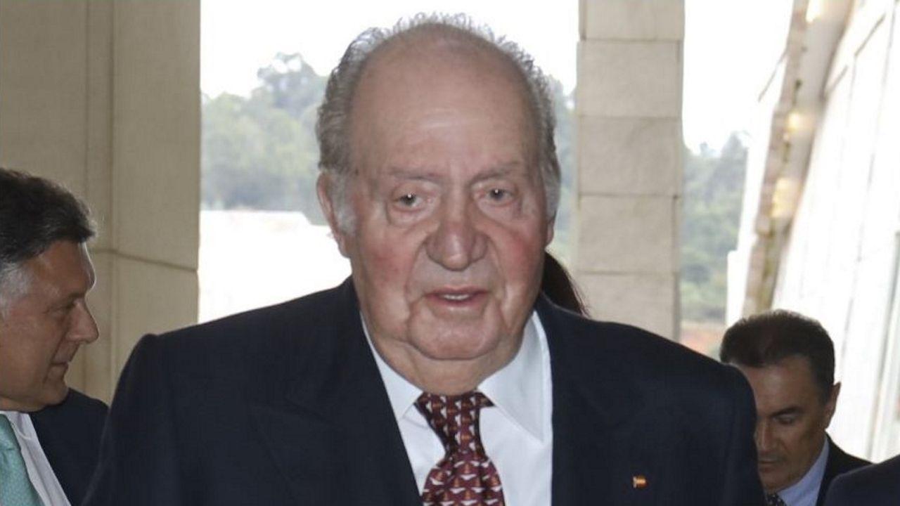 Juan Carlos I, en una imagen de febrero del 2020