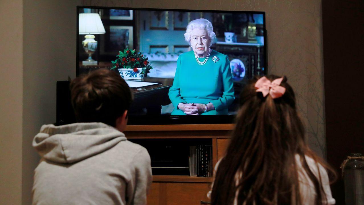 El discurso de la reina Isabel II fue rodado previamente en el castillo de Windsor