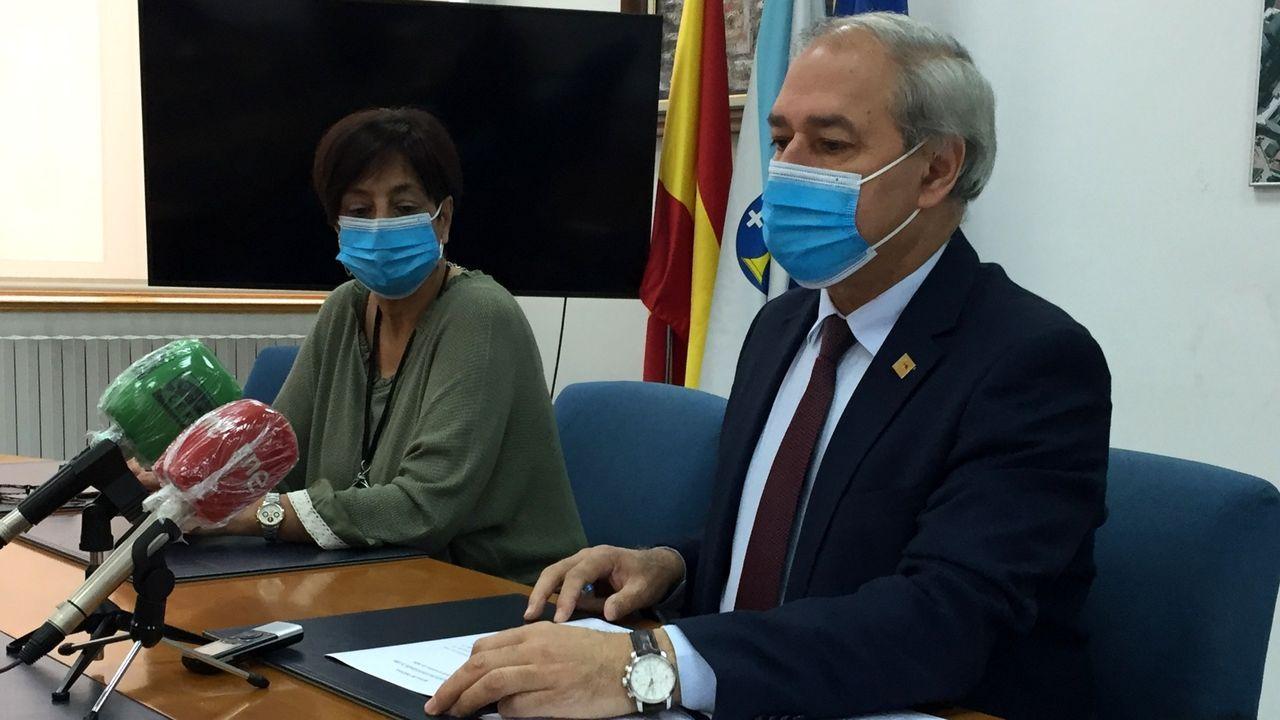 José Tomé y Gloria Prada presentaron la propuesta de la alcaldía que se llevará el lunes al pleno