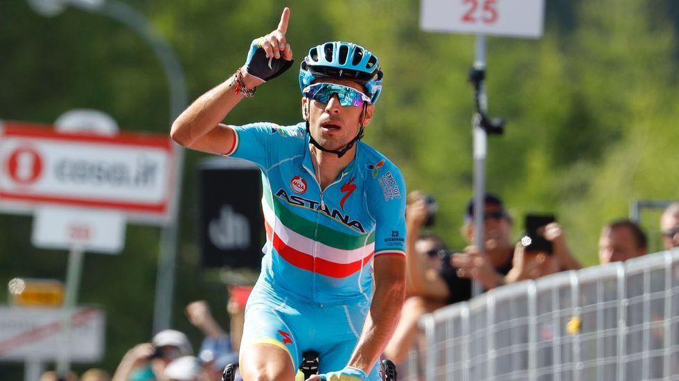 Así fue el rocambolesco final de etapa en el Tour.Juanma Castaño