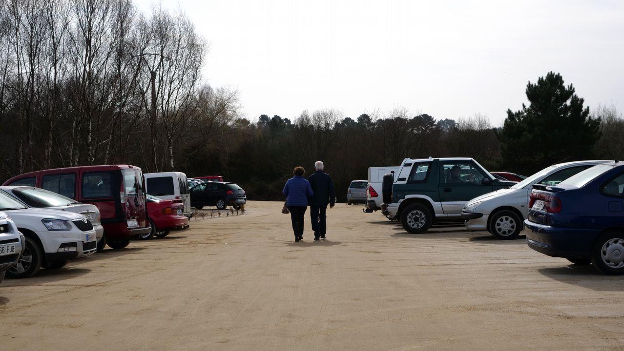 En el Lucus Augusti se ha acondicionado una explanada sin asfalto para aparcar de forma gratuita