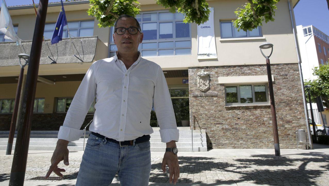 Javier Gestal, de Alternativa dos Veciños, es el alcalde de Carral