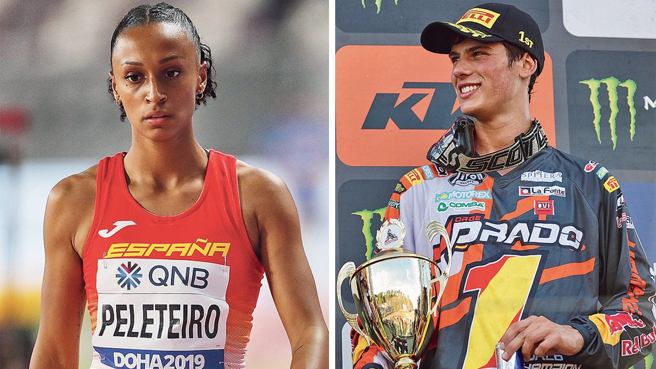 Ana Peleteiro y Jorge Prado