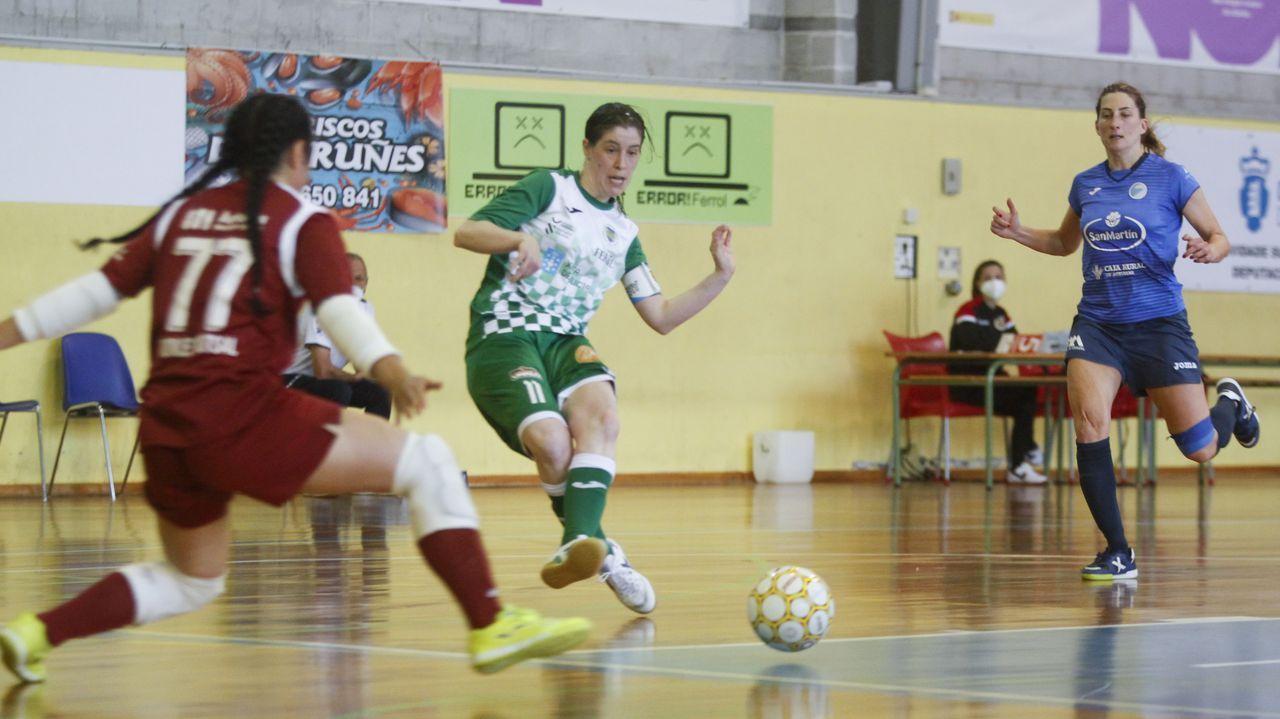 O Parrulo se despide de la Primera División de fútbol sala.Jornada de puertas abiertas en el CIFP Ferrolterra.