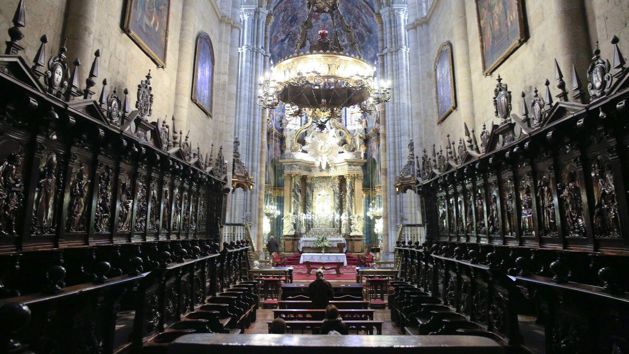 El coro necesita una restauración urgente
