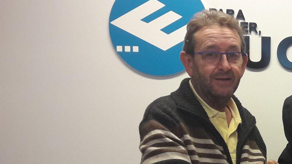 Zaplana: «Jamás participé en una adjudicación ilegal».Eduardo Zaplana, durante un registro el pasado mayo