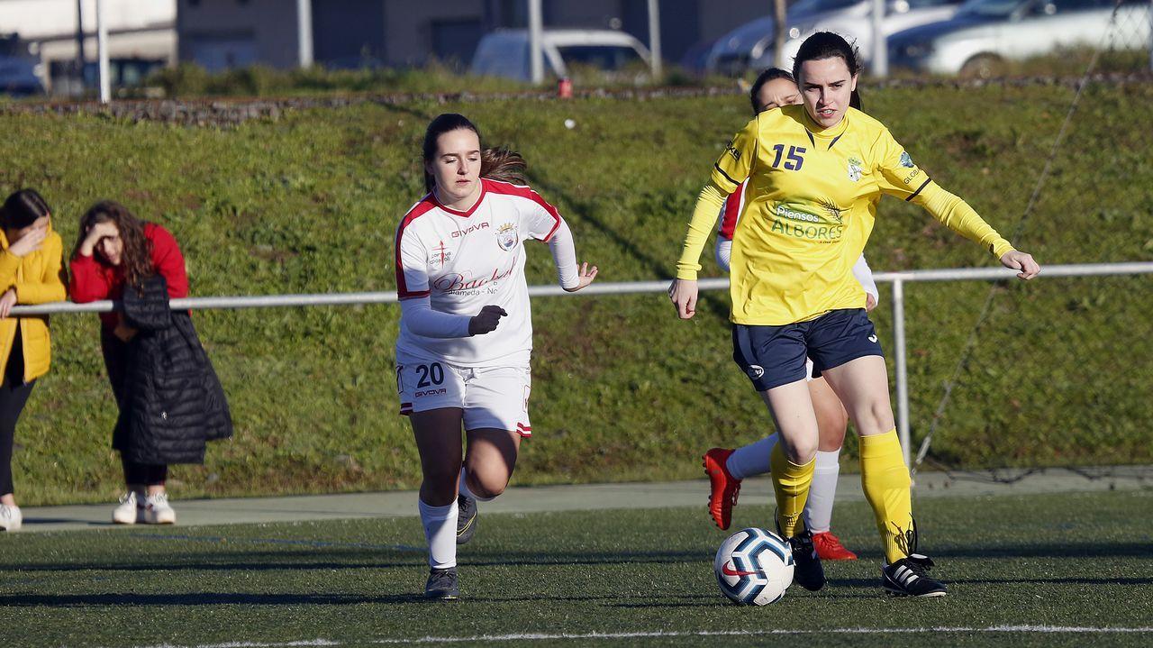 Las mejores imágenes del Deportivo femenino - Betis.Toña Is, seleccionadora del combinado sub-17 femenino
