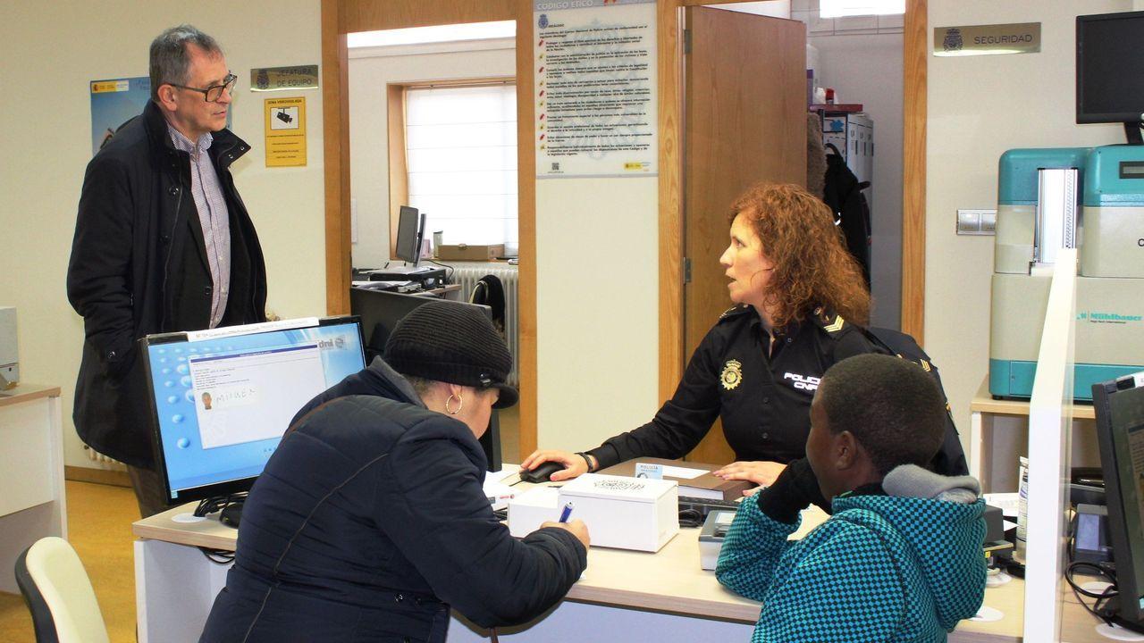 Imagen de archivo de la oficina del DNI.Policía Local de Avilés.