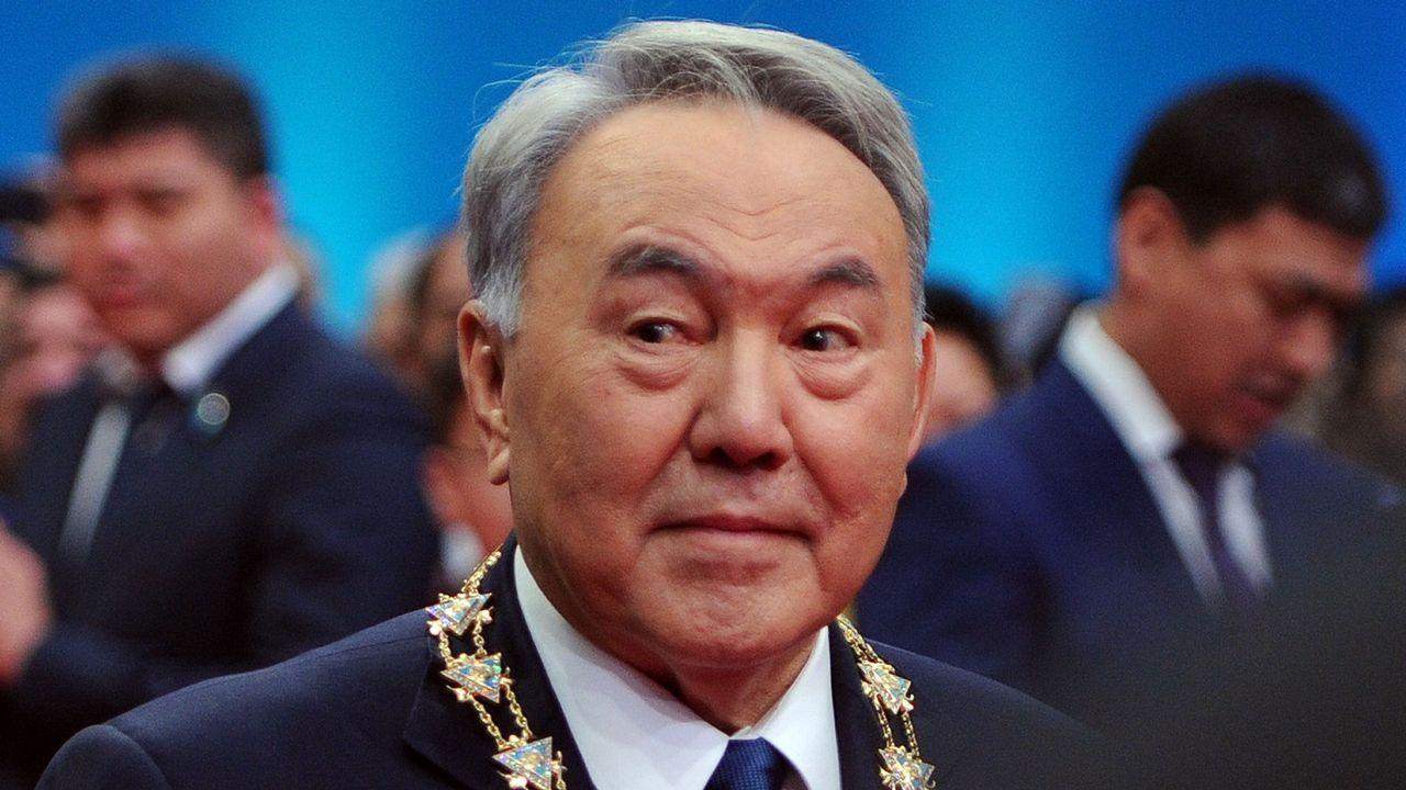 Nursultan Nazarbayev, en una imagen del 2015