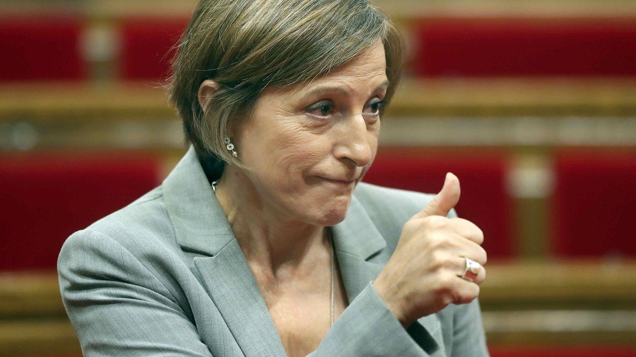 La expresidenta del Parlament Carme Forcadell ha sido condenada a 11 años y 6 meses de prisión e igual tiempo de inhabilitación absoluta por delito de sedición.