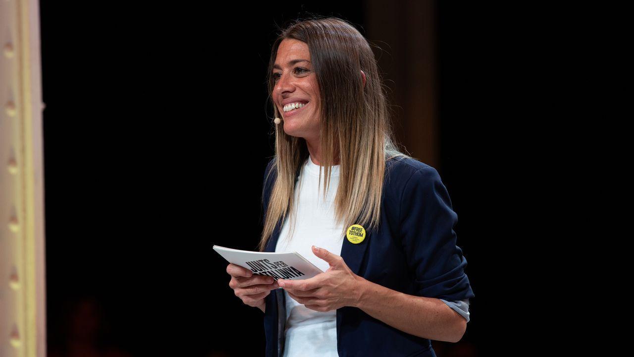 La exvicepresidenta del PDeCAT, Miriam Nogueras