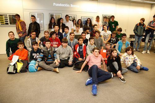 Fundación Barrié  exposición de finalistas y entrega de premios del Concurso de Robótica