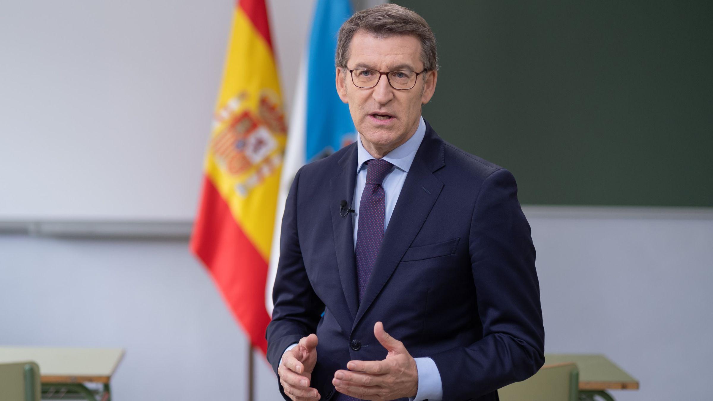 Feijoo: «A política cautiva de posicións extremas está lonxe do carácter dos galegos».Néstor Rego, diputado del BNG por A Coruña