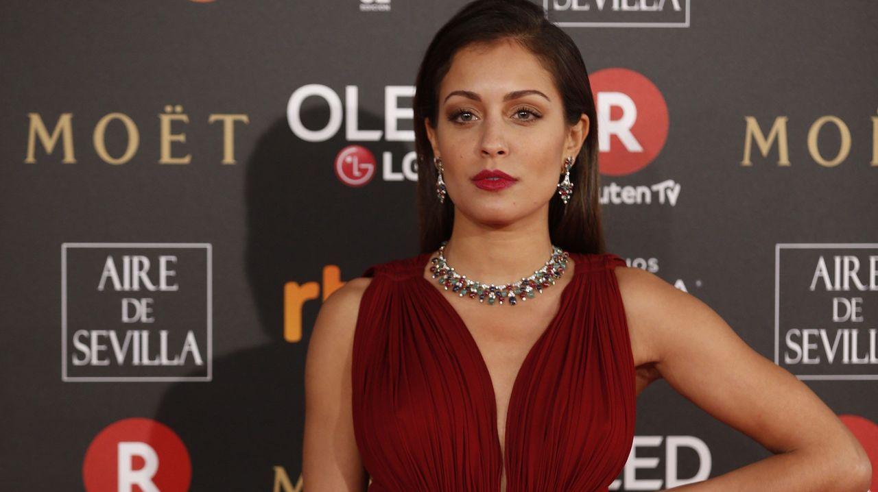 La actriz Hiba Abouk.