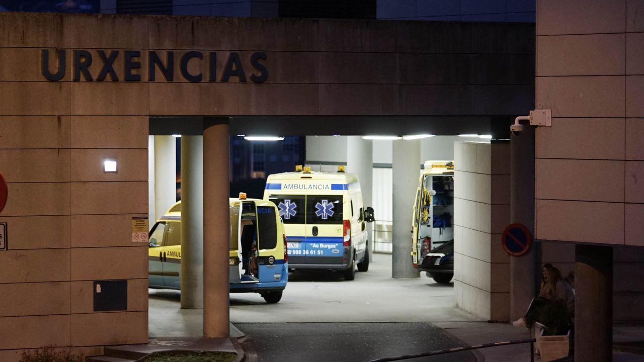Un niño de tres años falleció anoche en Gijón tras atragantarse con una de las tradicionales uvas de Nochevieja en su domicilio, ubicado en el barrio del Natahoyo.Después de que el pequeño se atragantara con la uva, los padres avisaron a la Policía Local que se desplazó a la vivienda, en la calle Independencia, y evacuó al menor al hospital de Jove, según las mismas fuentes.El niño llegó al centro sanitario sin respiración ni pulso por lo que los intentos de reanimación que se le realizaron resultaron infructuosos.En la foto, la madre del niño, Viviana (i) acompañada de su hermano, Carlos (d), ante la vivienda familiar