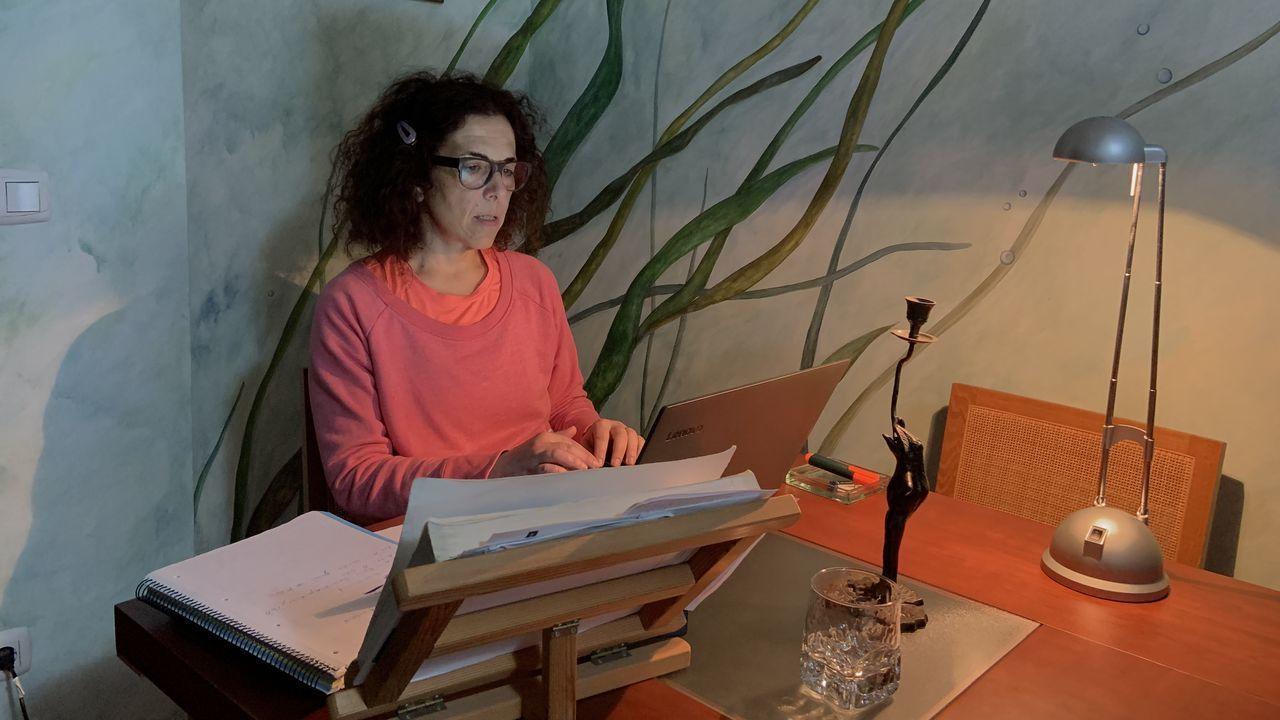 Así comienzan a organizarse los centros educativos para la vuelta a las aulas.Cristina González, profesora de Historia de España en el IES Frei Martín Sarmiento
