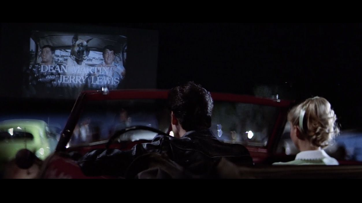 Fotograma de la película «Grease»