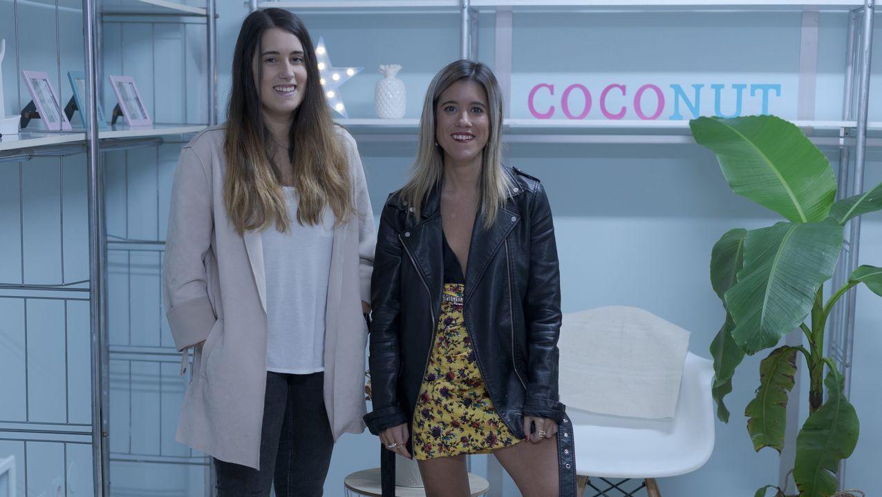 Coconut, la agencia de comuncación de Patricia Sande y Sara Noguerol, abre sus puertas en el número 60 de la calle Real
