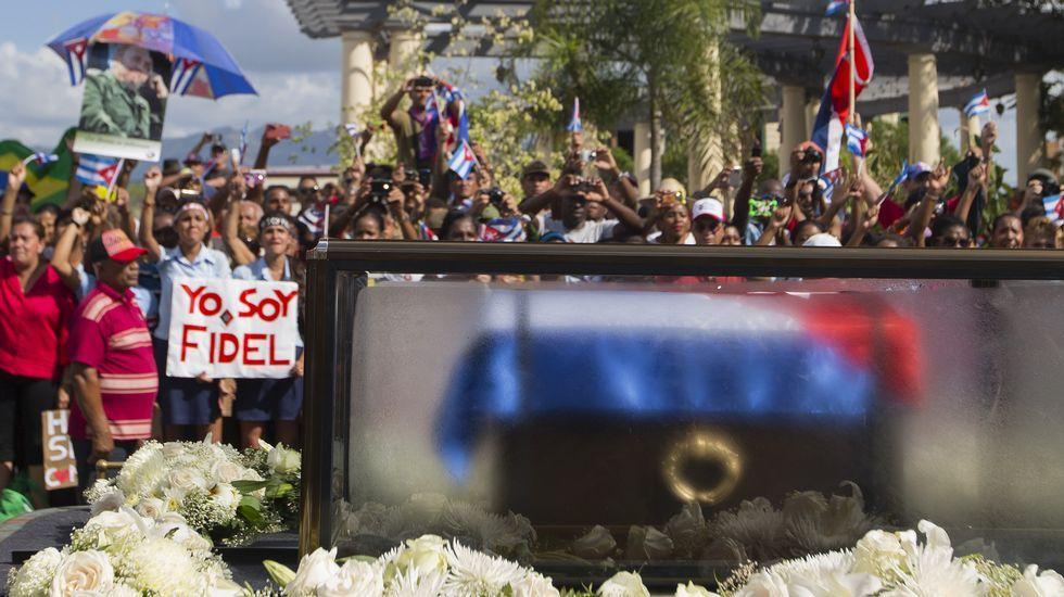 Inhumación de las cenizas de Fidel Castro.José Antonio Mases