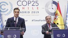 En directo: Comparecen Pedro Sánchez y AntónioGuterres, secretario general de la ONU