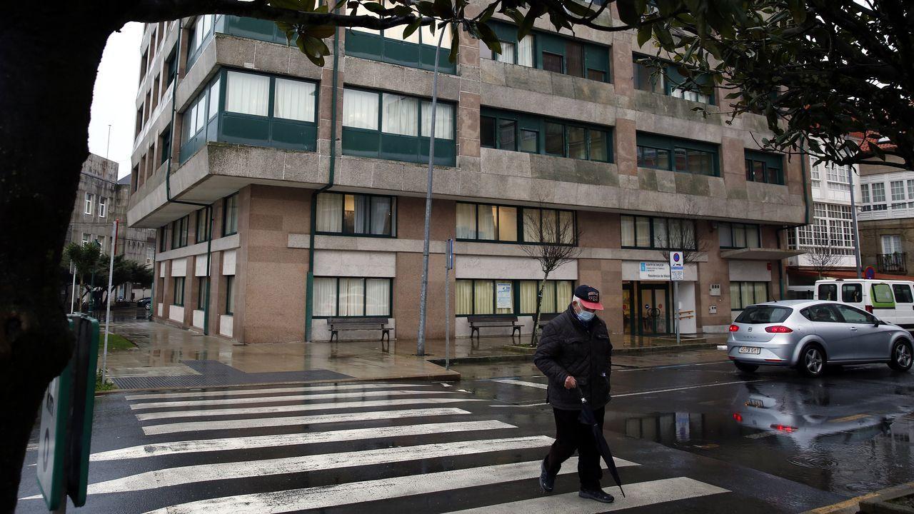 En la residencia de Ribeira están siendo atendidos buena parte de los enfermos