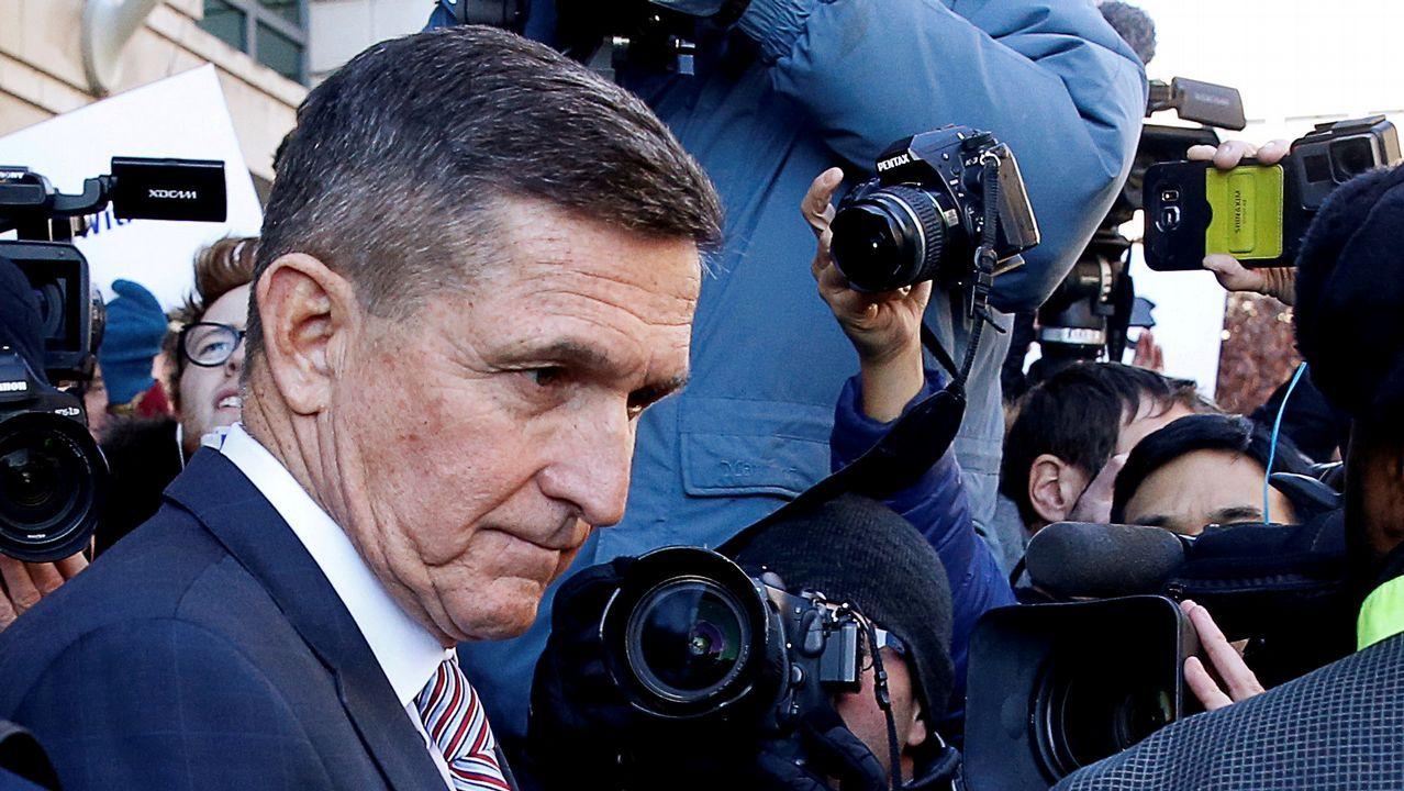 El exasesor de Seguridad Nacional de Trump, Michael Flynn