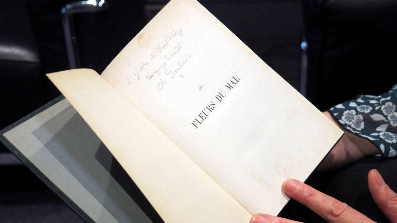 La primera edición del libro ha permitido encontrar una estrofa inédita de Baudelaire