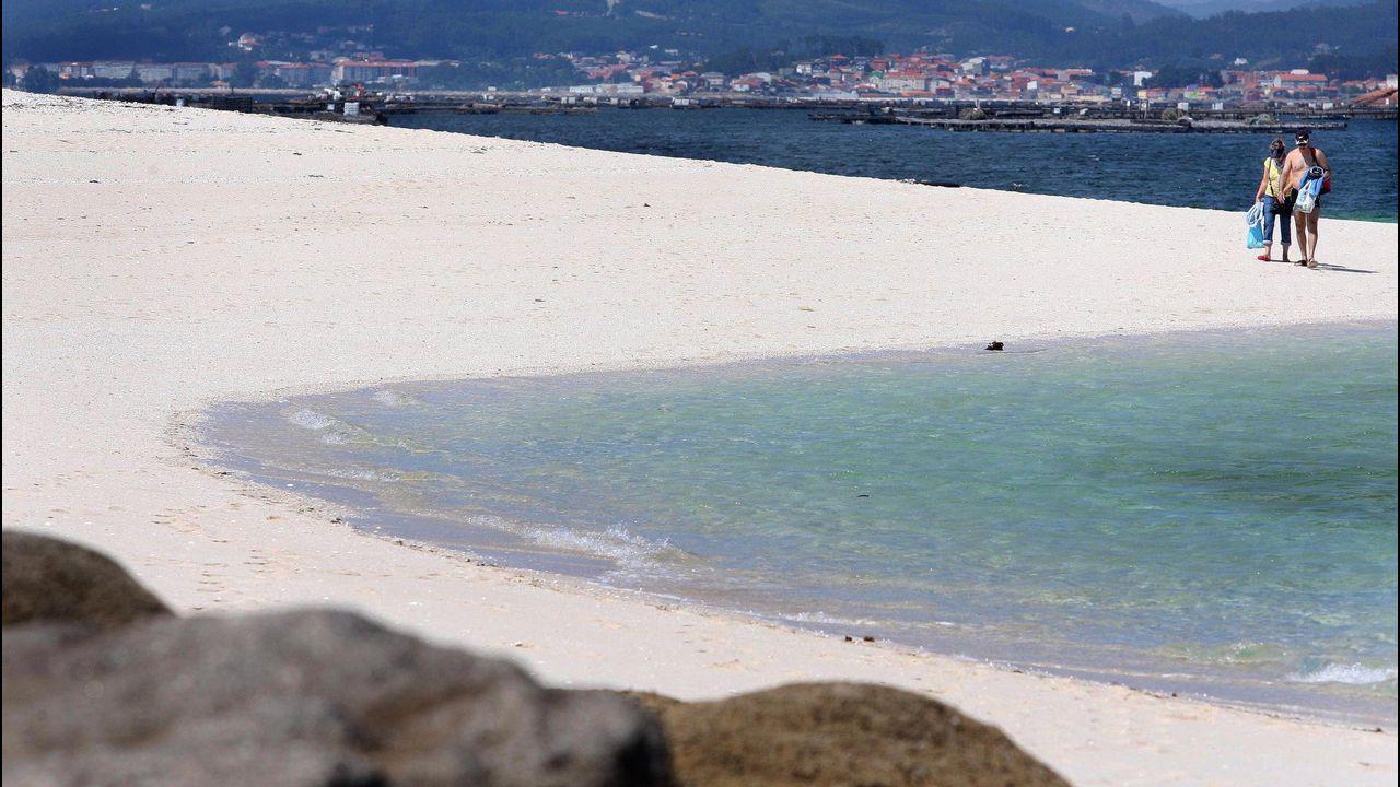 Areoso, una isla en peligro de extinción.El asturiano Martín López-Vega