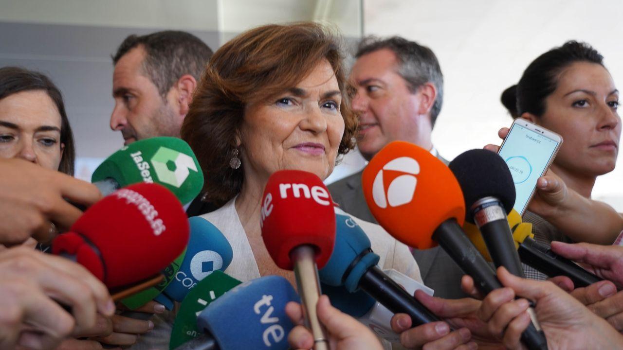Carmen Calvo gestionó la crisis del Open Arms