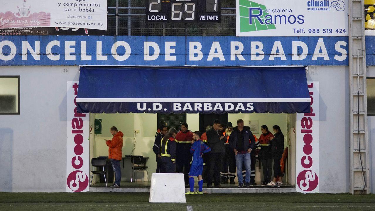 Imagen de archivo de un partido en Os Carrís