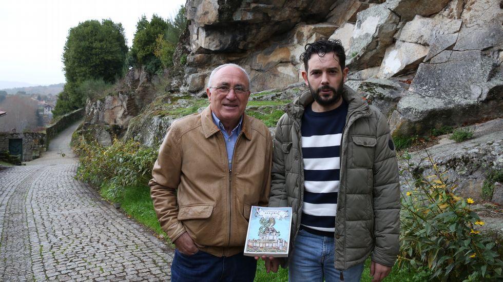 Estreno de la tercera temporada de «Estoy vivo».Antonio Blanco y Juan Seara presentan «El Castillo de Allariz» esta tarde en la Casa da Cultura alaricana