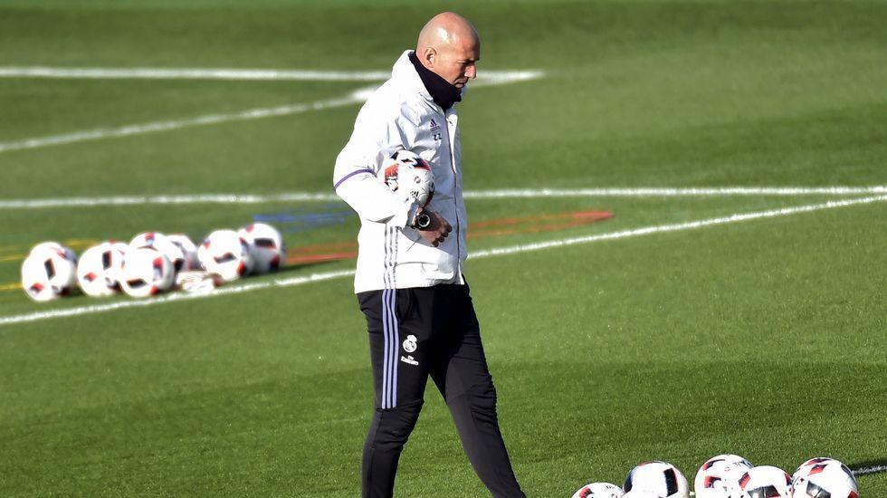 Zidane: «Parece que estamos últimos»