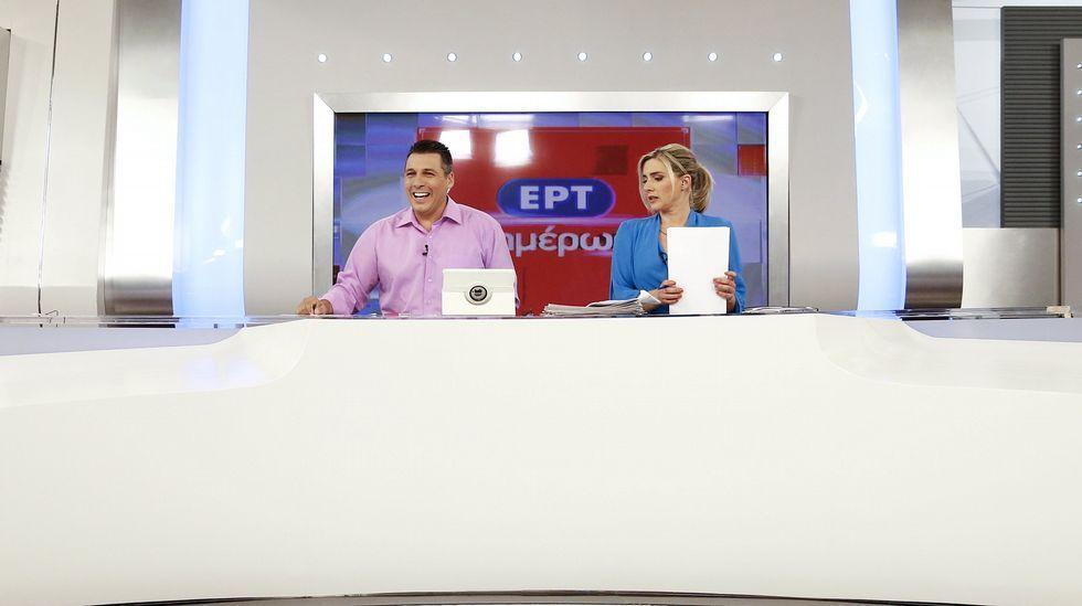 La televisión pública griega ERT vuelve a emitir tras dos años de cierre