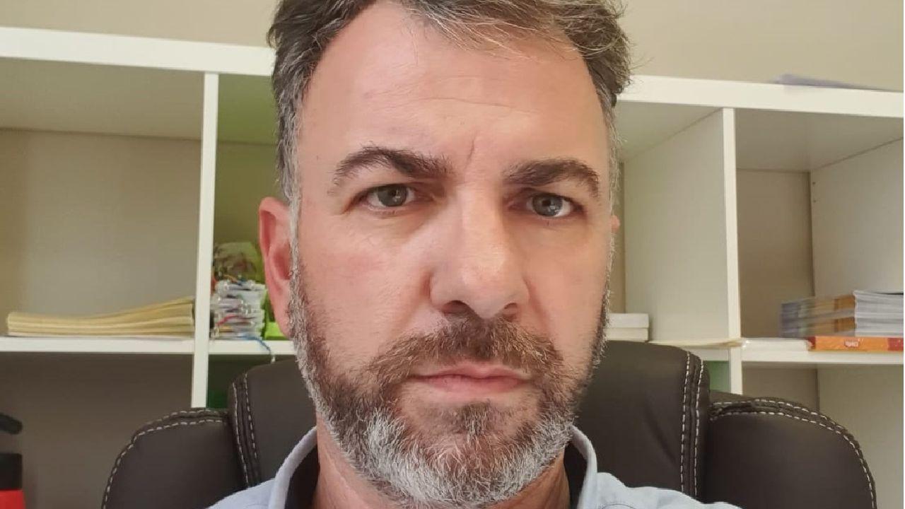 Miguel Ángel Garrido es el presidente de la nueva asociación de comerciantes, la primera que se crea en la comarca quiroguesa